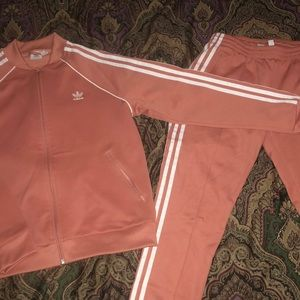 Woman's adidas track suit